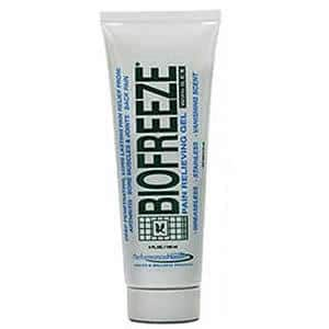 BioFreeze Gel with Ilex Cryotherapy Pain Relief
