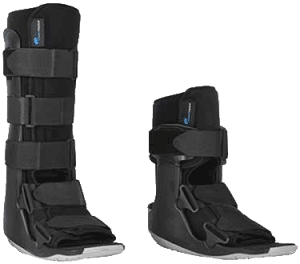 Walking Boot achilles tendon strain relief of pain orange county